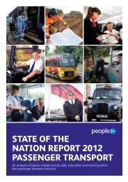 View State of the Nation Passenger Transport 2012 - People 1st