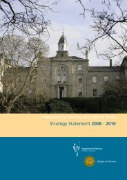 Strategy Statement 2008 - 2010 - Department of Defence