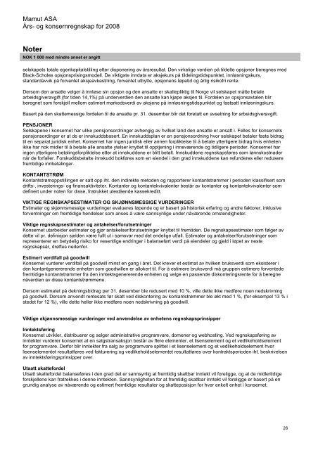 Årsrapport 2008 - Mamut