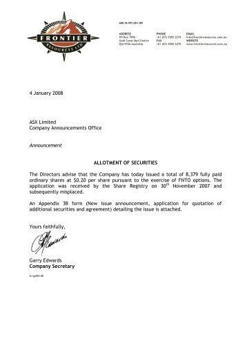 to company announcements office asx limited from santos