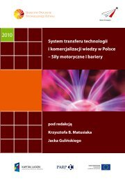 System transferu technologii i komercjalizacji wiedzy w Polsce