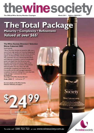 The Total Package - The Wine Society