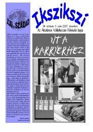 ÚT A KARRIERHEZ - Általános Vállalkozási Főiskola