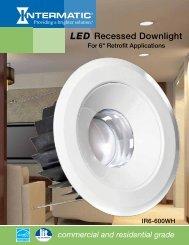 LED Recessed Downlight - LED Lighting