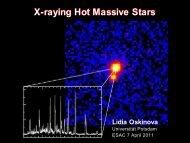 X-raying Hot Massive Stars - ESA