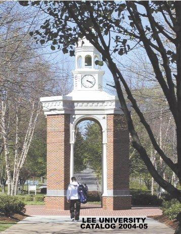 Undergraduate - Lee University