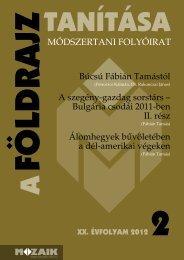 MÓDSZERTANI FOLYÓIRAT - Mozaik Kiadó