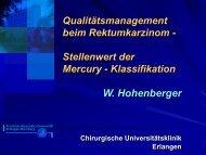 Mesorectal, mesocolic plane