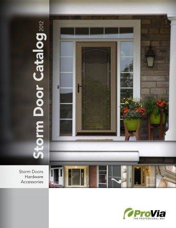 Storm Door Catalog - ProVia & Door Catalog - ProVia pezcame.com