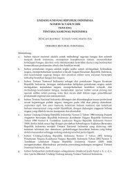 Undang-Undang No.34 Tahun 2004 tentang Tentara ... - ProPatria