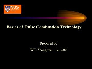 Basics of Pulse Combustion Technology