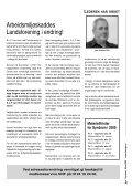 Syndrom nr 1 - 2009.indd - Arbeidsmiljøskaddes landsforening - Page 3