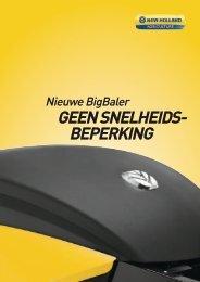 GEEN SNELHEIDS- BEPERKING - New Holland