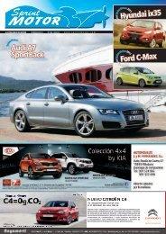 Audi A7 SportBack Hyundai ix35 Ford C-Max - Sprint Motor