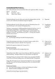 Kongressprotokoll 2011 - RBU