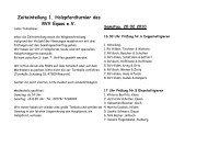 Zeiteinteilung 1. Holzpferdturnier des RVV Equus ... - RuFV Hilden eV