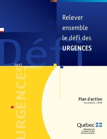 Plan d'action - Gouvernement du Québec