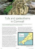 Geological discoveries Tufa and speleothems in Cornwall Seashore ... - Page 6