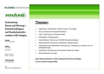 BSK-Schulung Schako 2012.pub - Felderer