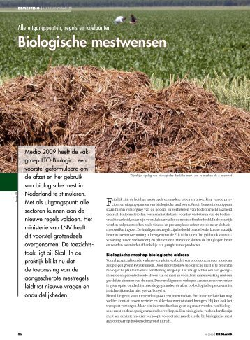 Biologische mestwensen - Vwg.net