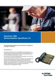 OpenCare 1000 Seniorentelefon OpenPhone 13i - Aastra