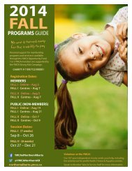 YMCA Fall Programs Guide 2014 low-res fast