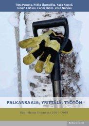 Palkansaaja, yrittäjä, työtön - kuolleisuus Suomessa - Kuntoutussäätiö
