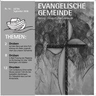 2 8 12 EVANGELISCHE GEMEINDE - Pocking evangelisch