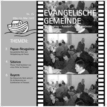 EVANGELISCHE GEMEINDE - Pocking evangelisch