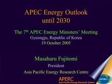 The 6th APEC EMM