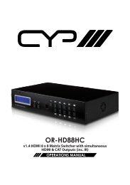 OR-HD88HC - CIE-Group