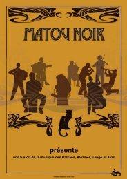 présente - Matou Noir