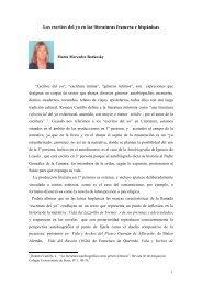 los escritos del yo en las literaturas francesa e hispnicas - Revista ...