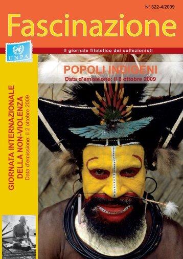 POPOLI INDIGENI - United Nations Postal Administration