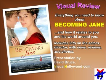 BECOMING JANE - Visual Hollywood