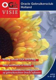 OGh Visie 2011 Voorjaar - Oracle Gebruikersclub Holland