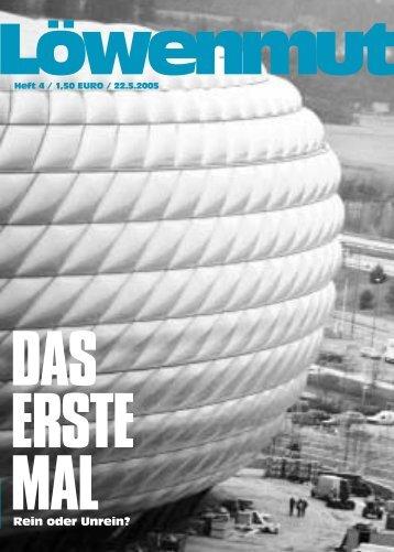 erste Mal - Loewenmut - das Fanzine