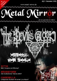 THE DEVIL'S BLOOD, KITTIE, FRAGMENTS OF ... - Metal Mirror