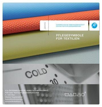 PFLEGESYMBOLE FÜR TEXTILIEN - Die Textilindustrie