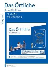 Für Gießen und Umgebung. 2010/2011