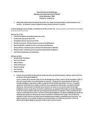 Escuela Primaria de Backman Minutas de la Reunión de la PTA ...