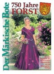 750 Jahre Forst