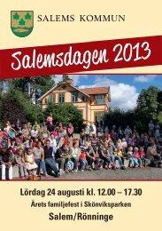 Program - Salems kommun