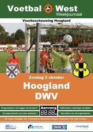 Voorbeschouwing Hoogland - DWV - Erwin Hermsen