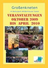 Veranstaltungskalender Großenkneten 2010 ohne Schatten.indd