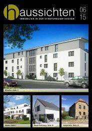 haussichten 06/15 - Immobilien in der Städteregion Aachen