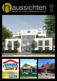 haussichten 05/15 - Immobilien in der Städteregion Aachen