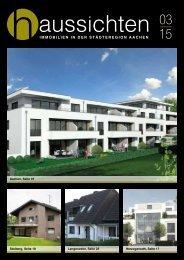 haussichten 03/15 - Immobilien in der Städteregion Aachen