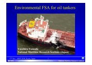 Environmental FSA for oil tankers