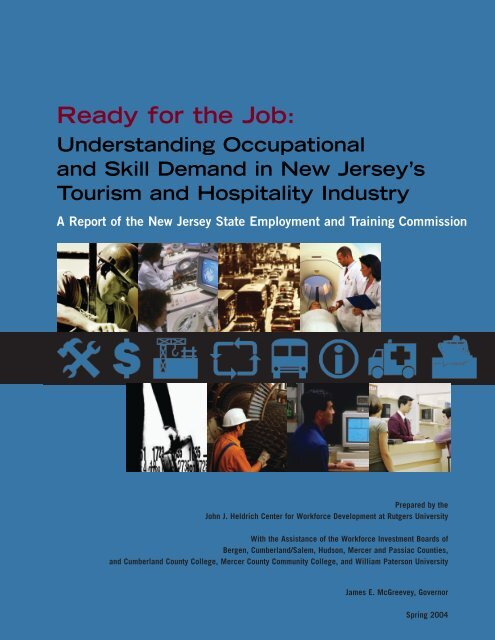 Tourism and Hospitality - John J. Heldrich Center for Workforce ...